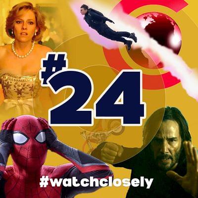 #24 Cinemacon reveals   Spiderman No Way Home, Matrix 4, Spencer reactions