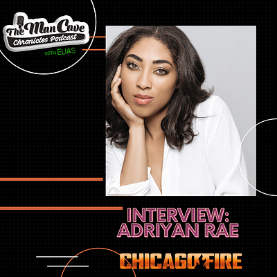 """Adriyan Rae talks about joining the cast of NBC's """"Chicago Fire"""""""