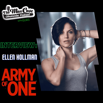 Ellen Hollman talks about her new film 'Army of One' and 'The Matrix 4'
