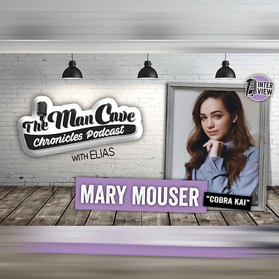 """Mary Mouser talks about playing Samantha Larusso on """"Cobra Kai"""""""