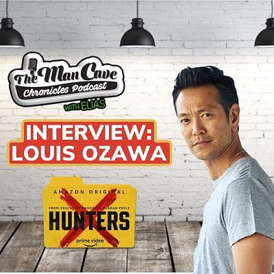 """Louis Ozawa talks about Amazon's""""Hunters"""""""