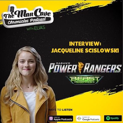 """Jacqueline Scislowski talks about playing Zoey The Yellow Ranger on """"Power Rangers: Beast Morphers"""""""