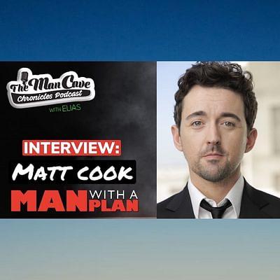 """Matt Cook from CBS's """"Man With A Plan"""""""
