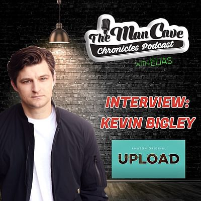"""Kevin Bigley talks about playing Luke in Amazon's """"Upload"""", his new book """"Comaville, and more."""