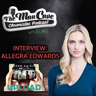 "Allegra Edwards talks about playing Ingrid on ""Amazon Series Upload"""