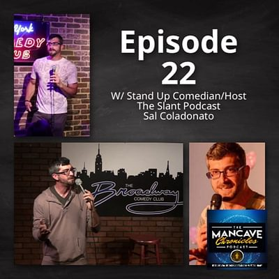 Interview: Sal Coladonado Stand Up Comedian/Host of The Slant Podcast