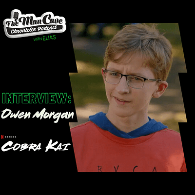 Owen Morgan talks about playing Bert on Season 3 of Cobra Kai on Netflix & more!