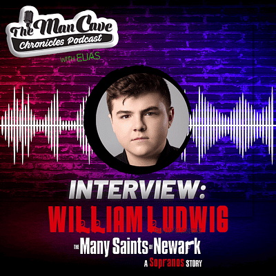 William Ludwig talks about playing young Tony Soprano in 'The Many Saints of Newark'
