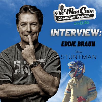 Eddie Braun talks about his new film Stuntman on Disney+