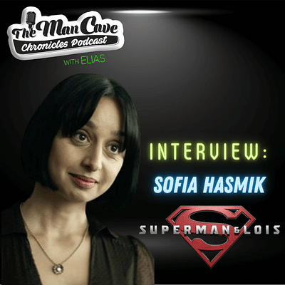 Sofia Hasmik talks about playing Chrissy Beppo on CW's Superman & Lois