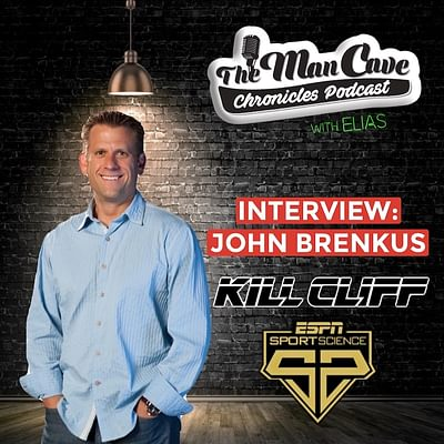 "John Brenkus talks about ""Kill Cliff"" ""Sport Science"" & more"
